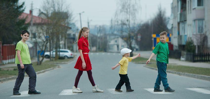 route enfants